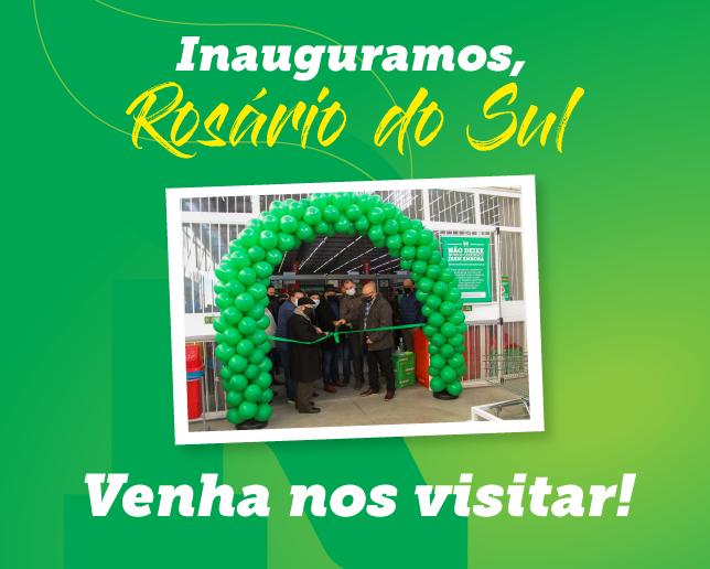Rancho Atacadista abre as portas em Rosário do Sul