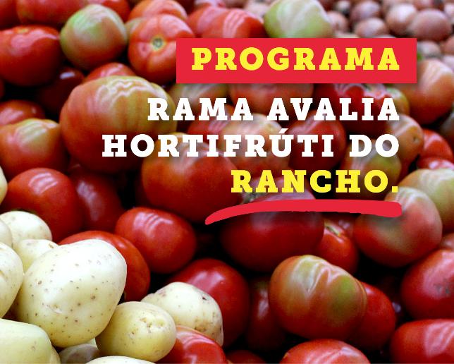 Programa avalia hortifruti da Rede Vivo e Rancho Atacadista