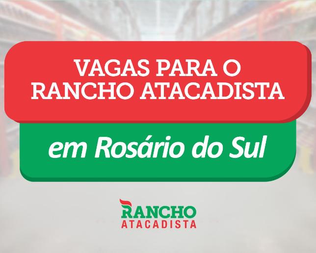 Rancho Atacadista já está recebendo currículos para futura filial em Rosário