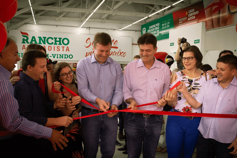 Primeira loja do Rancho Atacadista inaugura em Venâncio Aires