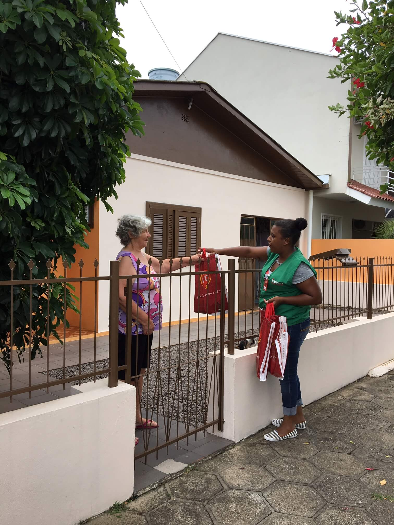 Visita aos vizinhos